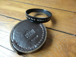 NIKON NIKKOR filtre filter 52mm close-UP n°2 (NIKON F F2) NIPPON KOGAKU