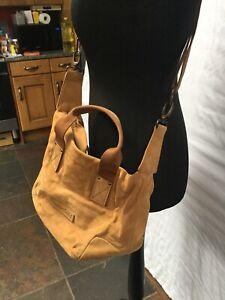 Timberland Nubuck Leather Bag.