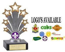 BEAVERS CUBS SCOUTS BOYS BRIGADE RAINBOWS BROWNIES GIRL GUIDES TROPHY FG71  CO28