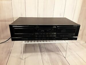 Onkyo R1 TA-RW200 Double Cassette Deck Dolby B C Dual Auto Reverse  **TESTED**