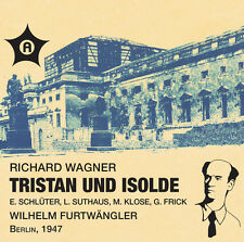Wilhelm Furtwängler, - Tristan & Isolde (Akt 2 & 3) [New CD]