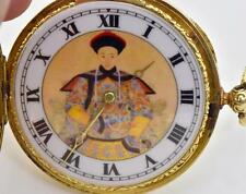 MUSEUM historic Chinese Qing Dynasty 18k gold fancy case watch.Guangxu Emperor