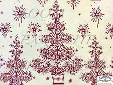 MD269 Scandinavian Danish Retro Christmas Tree Winter Star Cotton Quilt Fabric