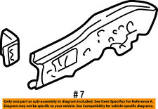 FORD OEM Fender-Outer Rail Left 8L8Z5D805A