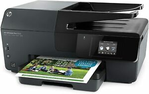 HP Officejet Pro 6830 Wireless All-In-One Printer Scanner Copier Fax Works Great