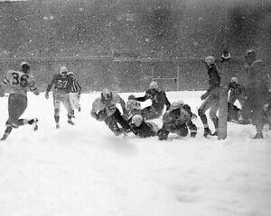 1948 CHICAGO CARDINALS VS PHILADELPHIA EAGLES 8X10 PHOTO FOOTBALL PICTURE SNOW