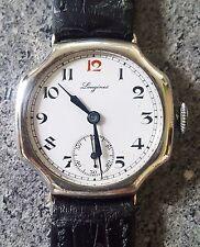 exceptionnelle montre suisse longines argent 925
