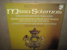 BEETHOVEN Mass in C Messe C-Dur MISSA SOLEMNIS Colin Davis RARE SEALED BOX 3 LP