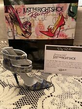 Just The Right Shoe by Raine Shoe Miniatures- Easy Rider Anniversary Nib