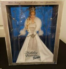 BARBIE DOLL 2003 HOLIDAY VISIONS WINTER FANTASY CHRISTMAS, SPECIAL EDITION