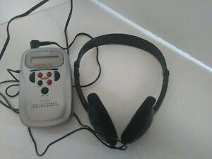 RCA Am/Fm Stereo 2 Band Mini Receiver