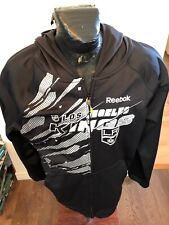 MENS XLarge Reebok Hockey Jacket NHL Los Angeles Kings Center Ice Collection