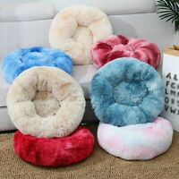 Pet Plush Bed Cushion Mat Pad Dog Cat Kennel Crate Cozy Soft House Kennel Large