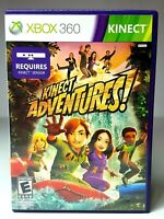 XBOX 360 KINECT ADVENTURES Video Game Factory Sealed Brand NEW