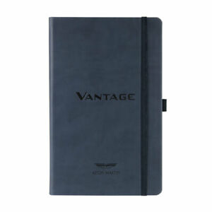 Official Aston Martin VANTAGE A5 Notebook James Bond 007 Embossed NEW Gift