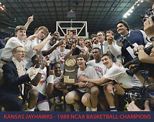 Kansas Jayhawks - 1988 NCAA Basketball Champions, 8x10 Color Photo