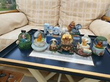 More details for winnie the pooh snow globe collection and wishing well