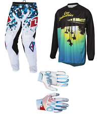 ONE Industries ATOM –  Enduro Dirt BIKE MX Motocross KIT Pants – Jersey – Gloves
