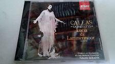 """MARIA CALLAS """"DONZETTI LUCIA DI LAMMERMOOR"""" CD 15 TRACKS 7 64420 2 TULLIO SERAFI"""
