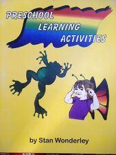 Preschool Learning Activities by Stan Wonderley (1996, Paperback)
