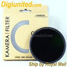 UK Camdiox 72mm C-Pro Nano Slim MC SMC ND1000 3.0 filter for B+W Haida Nisi DSLR