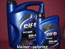 6 litros Elf Evolution 900 SXR 5w-40 ACEITE DE MOTOR para RENAULT ACEITE