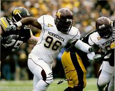 Brandon Kirksey Minnesota Gophers Signed 8X10 Photo