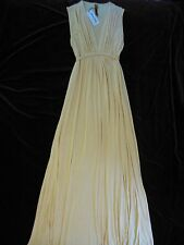 Rachel Pally Sleeveless Caftan Maxi Dress - Sz S 'Buttercream' Beautiful & New