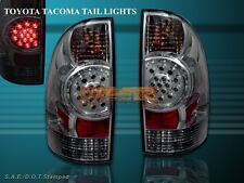 05-08 TACOMA SMOKE LED TAIL LIGHTS REAR BRAKE LAMPS