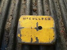 McCulloch Pro Mac/ Mac 2-10 7-10 6-10 10-10 A 1-10 Chainsaw Oil Tank Cover Plate