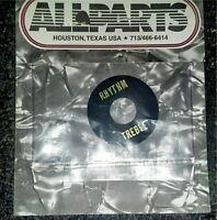Allparts Toggle Switch Ring Plate in Black  for Gibson Les Paul, SG. AP-0663-023