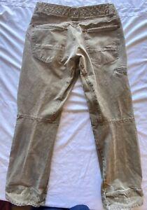 Kuhl Men's Rydr Pants 34x30 Vintage Patina Dye Brown