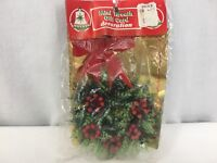 Vintage Mini Wreath Gift Card Decoration