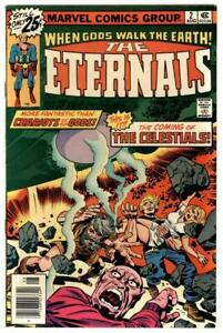 Eternals #2 Aug 1976 1st Appearance of Ajak  The Celestials Movie Coming Soon NM