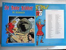 De rode ridder nr 105  EERSTE Druk ongekleurd  1983
