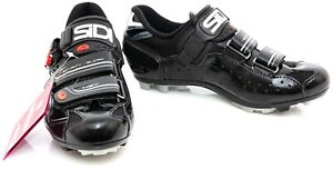 Sidi Dominator 7 Mountain Bike Shoes EU 39 US Women 7 Black 2 Bolt MTB Gravel