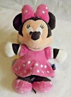 "Gorgeous Disney Minnie Mouse Plush Soft Toy Teddy 6"" Seated Free Post (BH)"