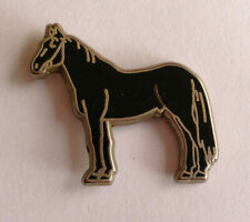Pin's pin CHEVAL HORSE NOIR  (ref I2)