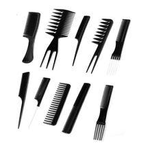 10 Peignes cheveux en plastique - NEUF