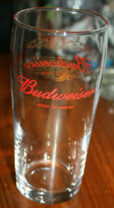 Budweiser King Of Beers Pint 06/03 marked USA Beer Glass