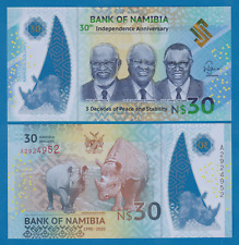 Namibia 30 Dollars P New 2020 UNC Commemorative Polymer Low Ship! Combine FREE!
