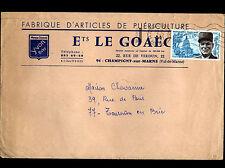 """CHAMPIGNY-sur-MARNE (94) USINE d'ARTICLES de PUERICULTURE """"Ets LE GOAEC"""" en 1971"""