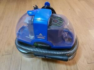 Bissell 2117A SpotBot Pet Portable Handsfree Spot Stain Deep Cleaner Blue