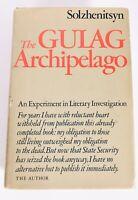 THE GULAG ARCHIPELAGO BY ALEKSANDR SOLZHENITSYN FIRST EDITION