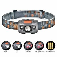 Linkax LED Headlamp Headlight Super Bright LED Head Torch 4 Brightness Modes