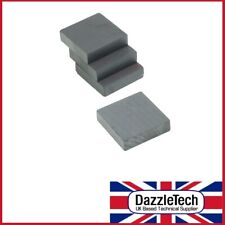 Square Magnet Ferrite 19mm x 19mm x 5mm pack of 4 magnets