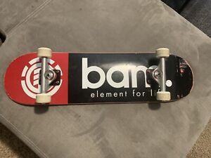 Bam Margera Complete Element Skateboard Deck Jackass, CKY, HIM Independent Bones