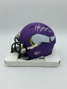 Harrison Smith Signed Minnesota Vikings Mini Hemet  COA/Holo Notre Dame