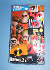 Incredibles 2 Disney Underwear Cotton 7 Briefs Toddler Boys 2T 3T Red Yellow NIP