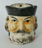 VINTAGE Hand Made & Painted Colonial Officer Creamer Made In JAPAN